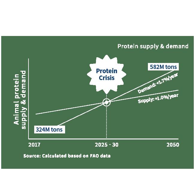 Protein Crisis – protein demand exceeds supply